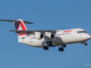 HB-IYQ - Avro RJ100 - Swiss
