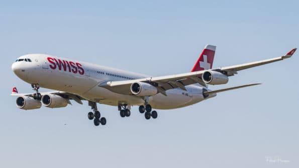 HB-JMD - A340 - Swiss