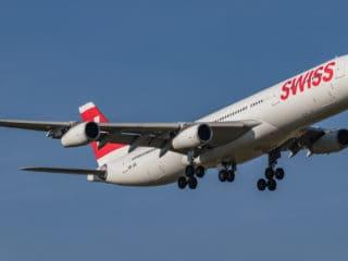 HB-JMI - A340 - Swiss
