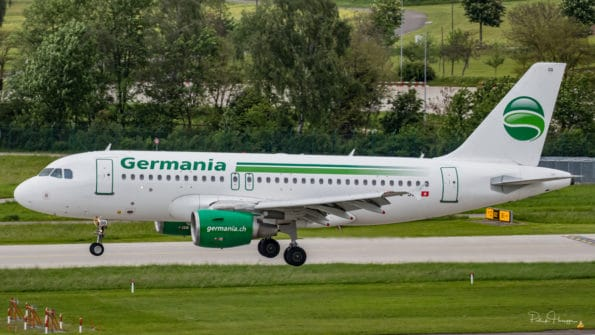 HB-JOG - A319 - Germania