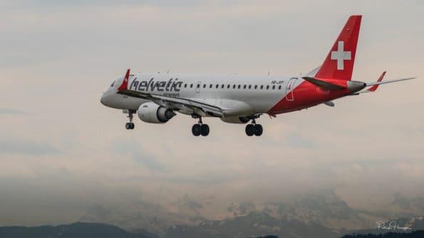 HB-JVP - Embraer ERJ-190 - Helvetic