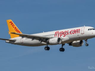 TC-DCJ - A320 - Pegasus