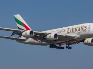 A6-EOB - A380 - Emirates