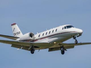 CS-DXF - Cessna Citation - NetJets