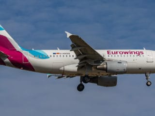 D-ABGQ - A319 - Eurowings