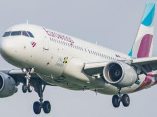 "D-AEWG - A320 - Eurowings ""Sweden/Goeteborg"""