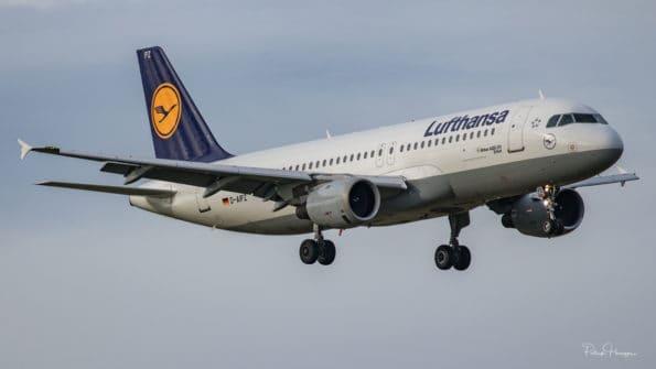 D-AIPZ - A320 - Lufthansa