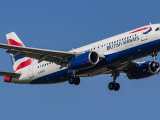 G-EUUD - A320 - British Airways