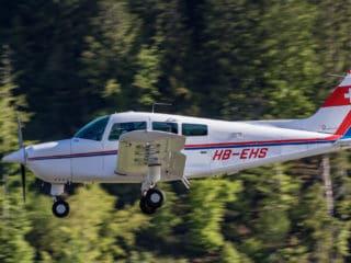 HB-EHS - Beechcraft C23