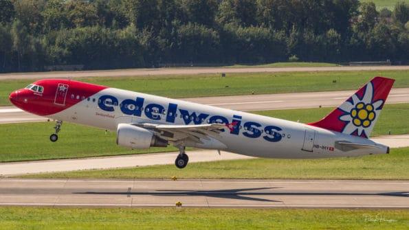 HB-IHY - A320 - Edelweiss