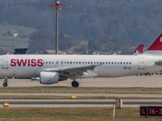HB-IJI - A320 - Swiss