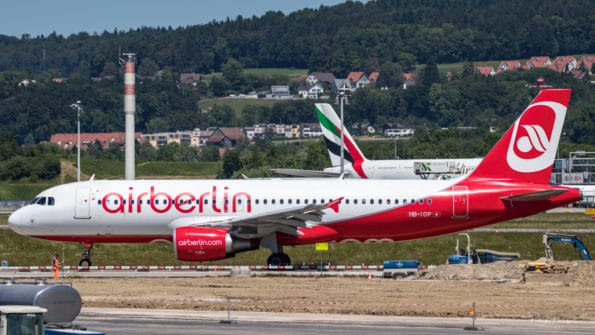 HB-IOP - A320 - Air Berlin