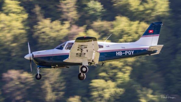 HB-PQY - Piper Arrow - Motorfluggruppe Langenthal