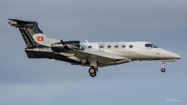 HB-VRW - Embraer Phenom 300 - Private