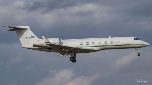 M-ARDI - Gulfstream G550