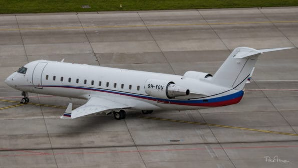 9H-YOU - Challenger 850 - Air X Charter