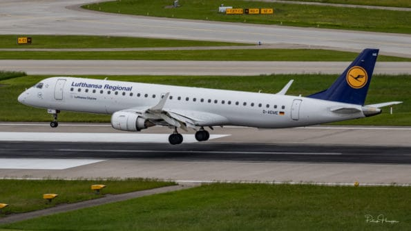 D-AEME - ERJ-195 - Lufthansa