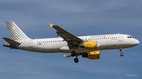 EC-KCU - A320 - Vueling