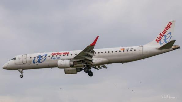 EC-LEK - ERJ-195 - Air Europa