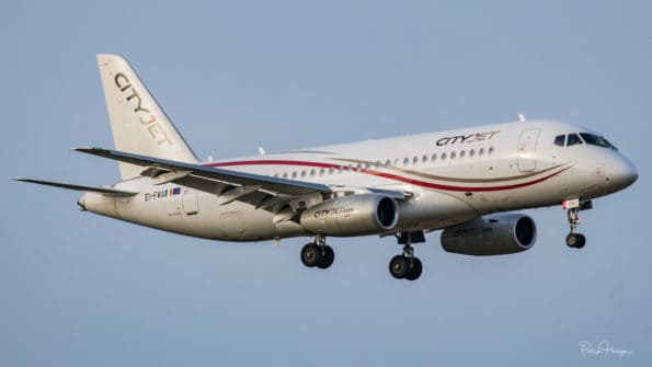EI-FWA - Superjet 100 - Cityjet