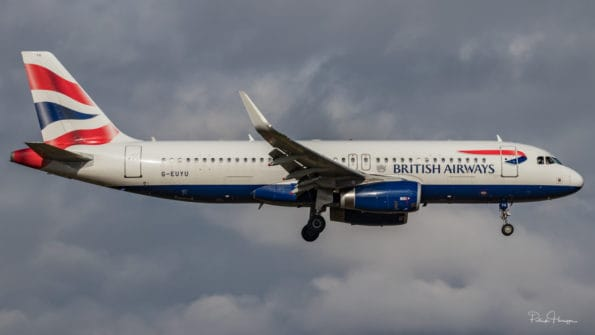 G-EUYU - A320 - British Airways