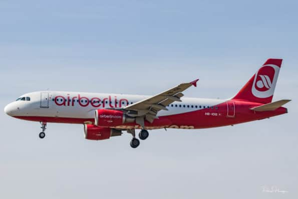 HB-IOQ - A320 - Air Berlin