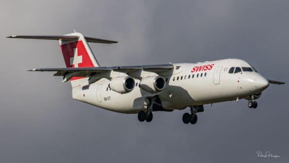 HB-IXT - BAe Avro RJ100 - Swiss