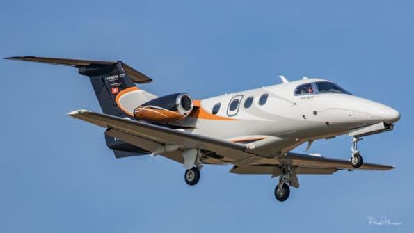 HB-JFK - Embraer Phenom 100