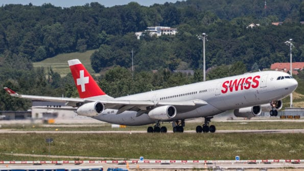 HB-JMB - A340 - Swiss
