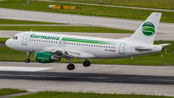 HB-JOH - A319 - Germania
