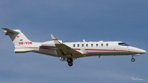 HB-VDW - Learjet 45XR - TAG Aviation SA