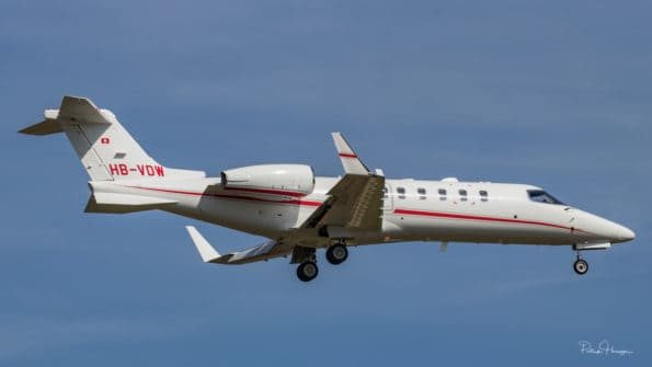 HB-VDW - Learjet 45XR - TAG Aviation SA