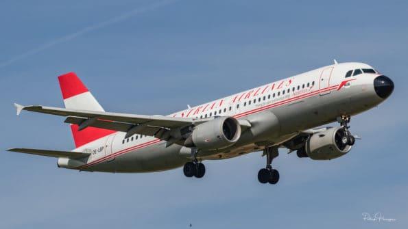 OE-LBP - A320 - Austrian
