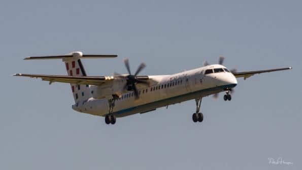 9A-CAQ - DHC-8 - Croatia Airlines