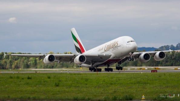 A6-EOT - A380 - Emirates