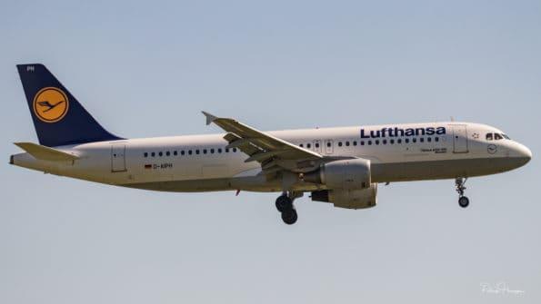 D-AIPH - A320 - Lufthansa