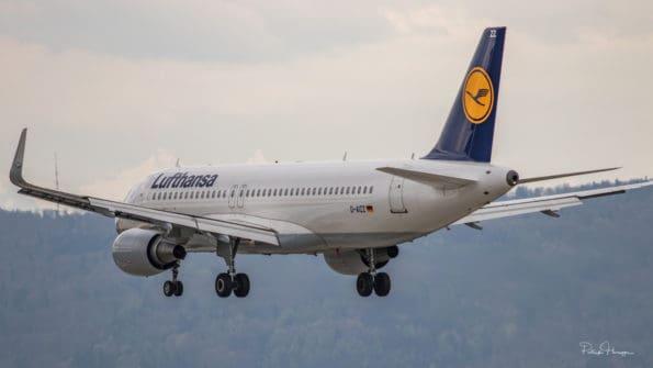 D-AIZZ - A320 - Lufthansa