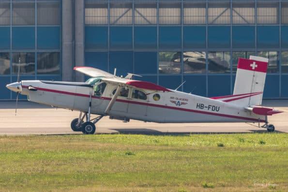 HB-FDU - Pilatus PC-6 - Air-Glaciers