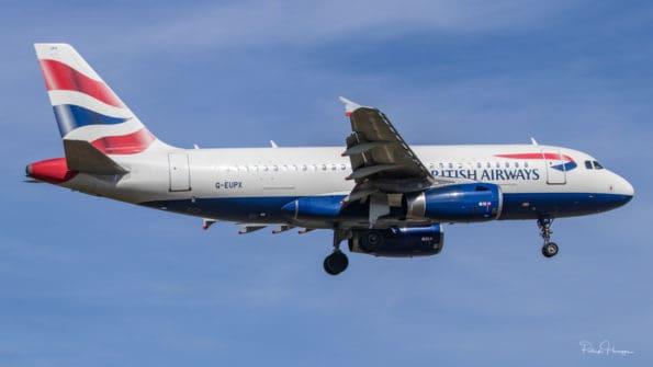 G-EUPX - A319 - British Airways