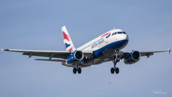G-EUPX - A319 - British Airways