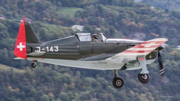 HB-RCF - Morane-Saulnier D-3801