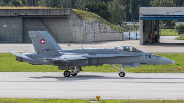 J-5019 - F/A-18 Hornet - Swiss Air Force