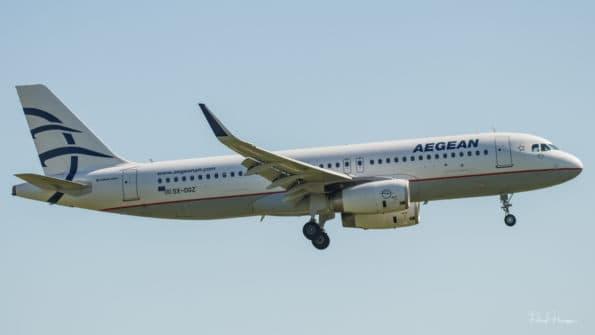 SX-DGZ - A320 - Aegean Airlines