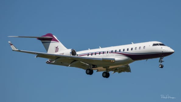 M-YVVF - Bombardier Global 6000