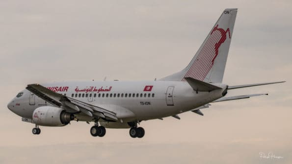 TS-ION - B737 - Tunisair