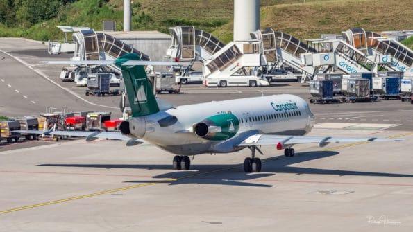 YR-FKA - Fokker F100 - Carpatair
