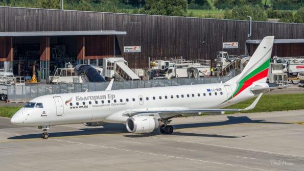 LZ-BUR - ERJ-190 - Bulgaria Air